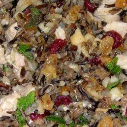 Wild Rice Salad With Mustard Honey Dressing