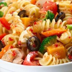Italian Pasta Salad for 20