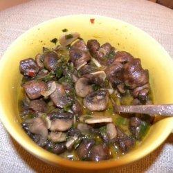 Spanish Mushrooms Tapas-Style recipe