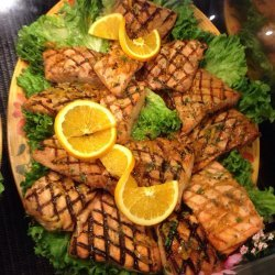Citrus Teriyaki Salmon
