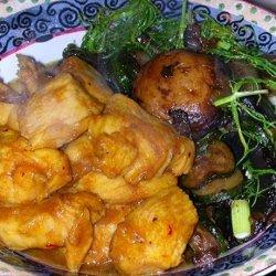 Honey Curried Chicken