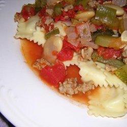 Italian Sausage Zucchini Stew