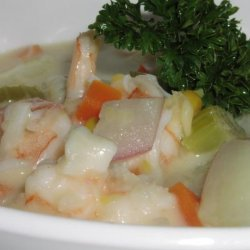 Creamy Delicious Seafood Chowder