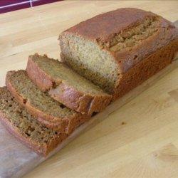 Baby Bear's Whole Wheat Banana Bread