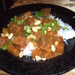 Slow Cooker/Crock Pot Massaman Curry