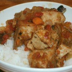 Crock Pot Pork Marengo