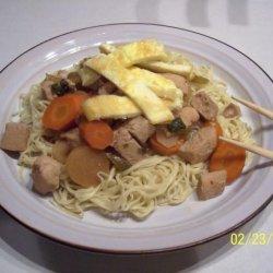 Crock Pot Chicken Chow Mein