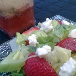 Garlic & Red Wine Vinegar Salad Dressing
