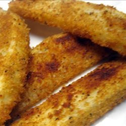 Spice/crumb Coated Wedge Baked Potatoes