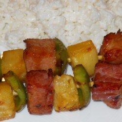Pineapple Ham and Rice
