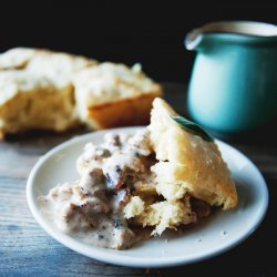 Biscuits and Sage  Sausage Gravy