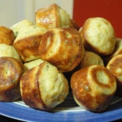 Warm Manchego Cheese Popovers
