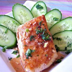 Steamed Halibut With Chili Lime Dressing
