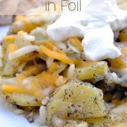 Grill Potatoes in Foil