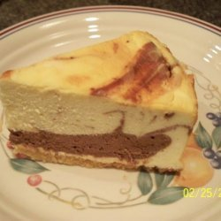 Low Carb Marble Cheesecake