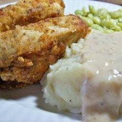 Southern Fried Chicken with Milk Gravy