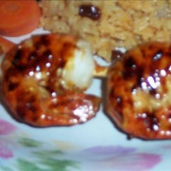 Spicy Sweet Grilled Shrimp recipe