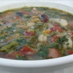 Italian Mixed Bean Soup