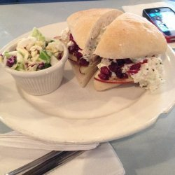 Chicken Salad With Dried Cranberries and Apples