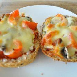 Pizza on a Bread