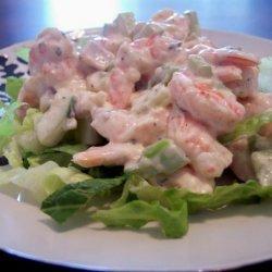 Low Carb Shrimp Salad with Aioli Mayonnaise