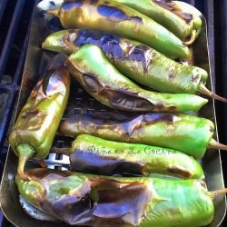 Green Chiles Rellenos (Stuffed Green Chiles)