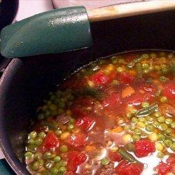 'Denny's' Vegetable Beef Barley Soup