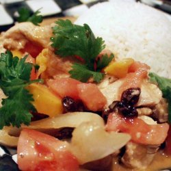 Chicken Curry With Mango