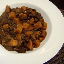 Black Bean Sweet Potato Jumble