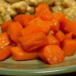 Honey/Ginger Glazed Carrots recipe