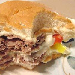 Cheese Steak Sandwiches