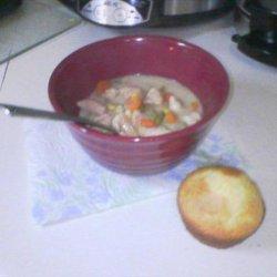 Crock Pot Chicken Corn Chowder