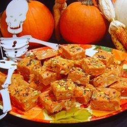 Sue's Super Easy Halloween Candy Corn Fudge