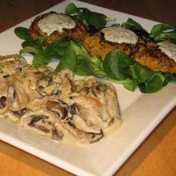Pork Aux Champignons (French Pork With Mushrooms)