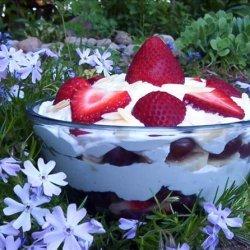 Fruit and Cream Layered Salad