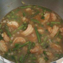 Asparagus Orzo Soup