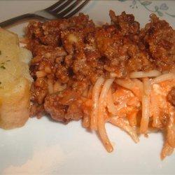 Dreamy Spaghetti Casserole
