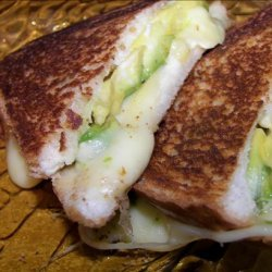 Grilled Havarti and Avocado Sandwiches recipe