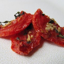 Do-It-Yourself Oven Sun-Dried Tomatoes recipe