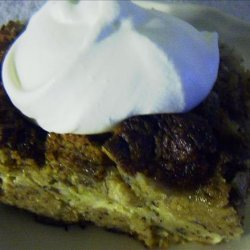 Banana Bread-Bread Pudding