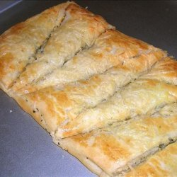 Herb and Asiago Crescent Strips