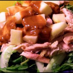 Szechwan Chicken Salad With Dressing