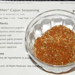 *another* Cajun Seasoning
