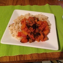 Brazilian Vegetable Curry With Spicy Tomato and Coconut Sauce