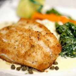Luby's Cafeteria Baked White Fish