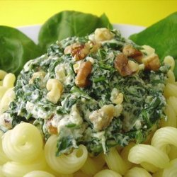 Spinach and Ricotta Cheese Sauce for Pasta