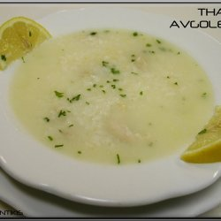 Greek Lemon-Rice Soup