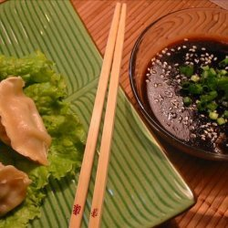 Steamed Dumplings With Ginger Hoisin Sauce recipe