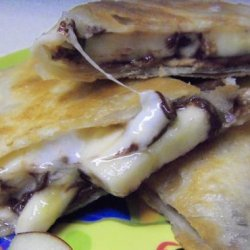 Peanut Butter S'more Quesadillas