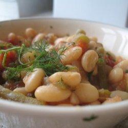 Greek Potato, Zucchini, and Bean Stew